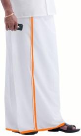 Prakasam Cotton Solid Men's Dhoti
