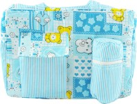 Ole Baby Big Multi-Utility Little Hearts Amazing Print Tote Diaper Bag (Multicolor)
