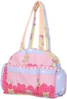 Advance Baby Printed Diaper Bag Messenger (Pink)