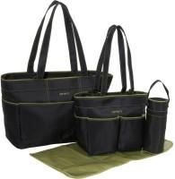 Baby Bucket Carters 4 Piece Diaper Bag Set Diaper Bag (Black)