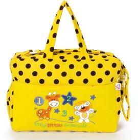 Stuff Jam Advance Baby Polka Dot Print My Little Friends Diaper Bag Nursery Bag