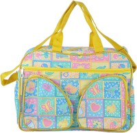 A Baby Multi Utility Nursery Messenger Diaper Bag (Yellow) - DBGE4C5MYHCP5FSH