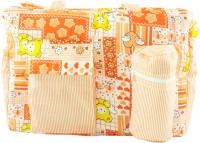 Ole Baby Big Multi-Utility Little Hearts Attractive Print Tote Diaper Bag (Multicolor)