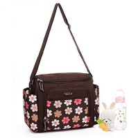 Baby Bucket Colorland Smart Baby Changing Mummy Tote Bag 1 Diaper Bag (Brown)