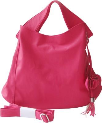 My Milestones Flora Hobo Diaper Bag - Bright Pink Bright Pink