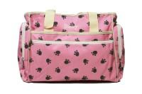 Kiwi Paw Prints Shoulder Diaper Bag (Pink)