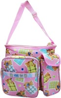 Wonderkids Baby Teddy Print Nursery Bag (Pink)