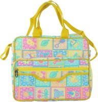 A Baby Multi Utility Nursery Messenger Diaper Bag (Yellow) - DBGE4C5MEZDMTZBH