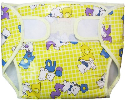Eio Baby Infant Washable Reusable Pocket Nappy Diaper Covers with Inserts (Pack of 3) - Regular (3 Pieces)