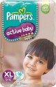 Pampers Active Baby Diaper - Extra Large - 16 Pieces