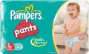 Pampers Pants Diaper L Size (Large) 52 Pads: Diaper