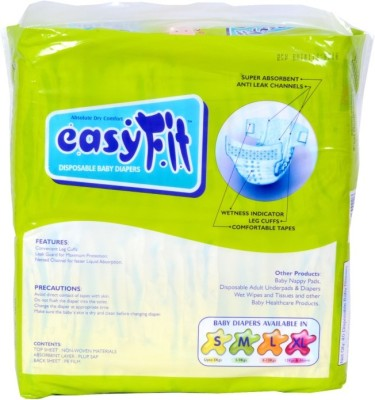 Easyfit Disposable Baby Diapers - Medium (3 Pieces)