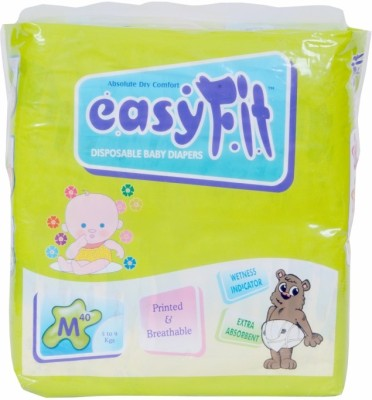 Easyfit Disposable Baby Diapers - Medium (3 Pieces)