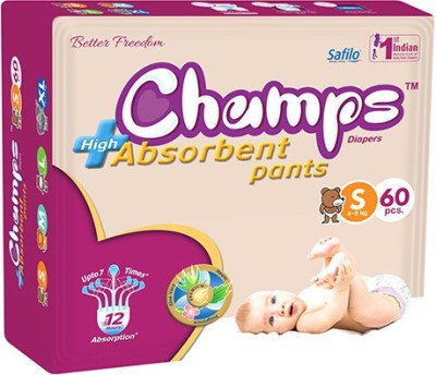 Champs High Absorbent Pants - Small (60 Pieces)