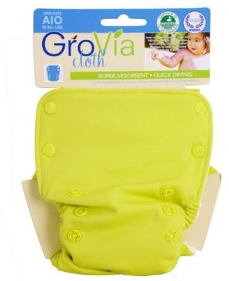 GroVia All in One Cloth Diaper - Medium (1 Pieces)