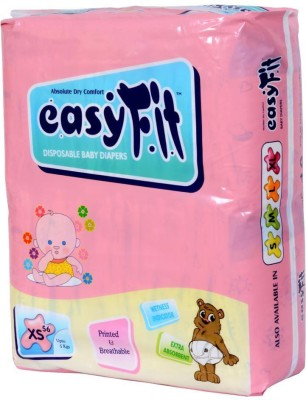 Easyfit Disposable Baby Diapers - Extra Small (3 Pieces)