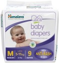 Himalaya Baby Diapers - Medium - 9 Pieces