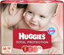Huggies Total Protection Diaper - Medium: Diaper