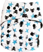 TheTickleToe Washable Printed Diapers with Inserts