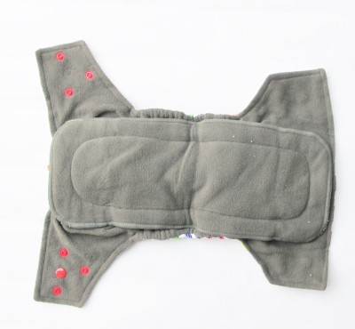 TheTickleToe Washable Printed Diapers with Inserts - Free Size (1 Pieces)