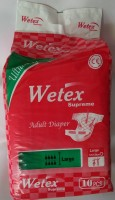 Wetex Large (101-139 Cm)-10 Pieces - Large (10 Pieces)