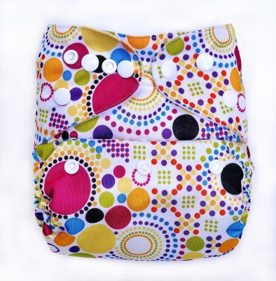 Bumberry Diaper Cover (Retro Print) - One - Size (1 Pieces)