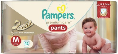 Pampers Premium Care Pants Medium Size - 42pcs (7 - 12 Kgs) - Medium (42 Pieces)