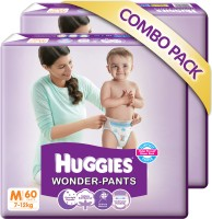 Huggies Wonder Pants Combo Pack - Medium (120 Pieces)