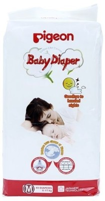 Pigeon Baby Diapers (Medium) 40 pieces (09182) - Medium (40 Pieces)