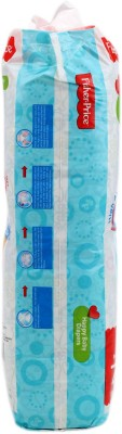 FisherPrice Happy Baby Diapers - Large - (9-14 Kgs) (48 Pieces)