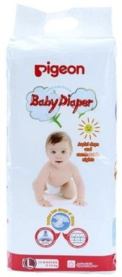 Pigeon Baby Diapers (Medium) 34 pieces (09183) - Large (34 Pieces)