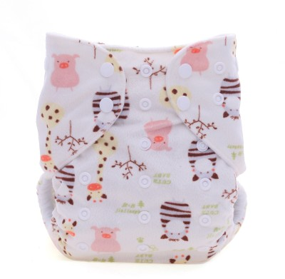 Eco Baby Soft Pocket Cloth Diaper - Free Size (1 Pieces)
