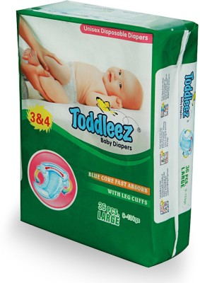 Toddleez Baby Diaper - Large (36 Pieces)