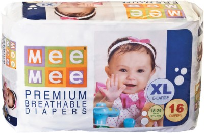 Mee Mee Premium Breathable Diapers - Extra Large