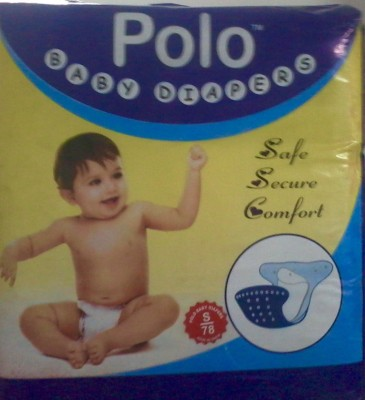 Polo Baby Diaper - Small (78 Pieces)