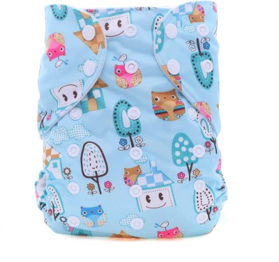 Eco Baby Pocket Cloth Diaper - Free Size (1 Pieces)