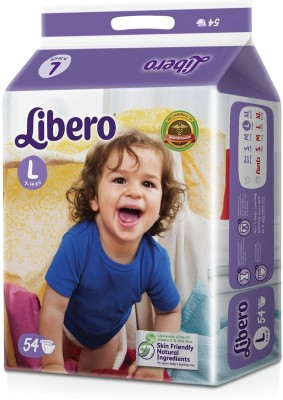 Libero Cloth Diaper - L54 (54 Pieces)