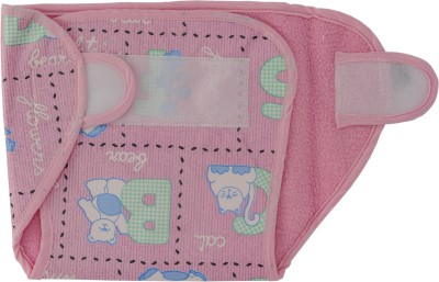 Love Baby Dry Quick Cloth with Plastic Diaper Pink - Medium (1 Pieces)
