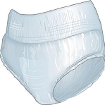 KosmoCare Disposable Protective Underwear-Size 44 To 58 Inches - Large (10 Pieces)