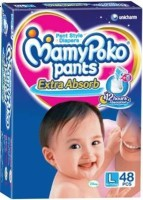 Mamypoko Mamy Poko Pant Style Large Size Diapers - Large (48 Pieces)