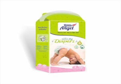 LITTLE ANGEL Extra Dry Diapers pack of 3 - Small (5 Pieces)
