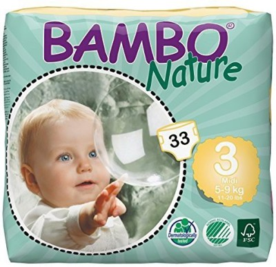 Bambo Nature Premium Baby Diapers - Medium (6 Pieces)