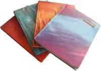 Concept Pack Of 4 Regular Notebook Hard Bound (Multicolor, Pack Of 4)