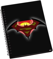 Shoprock Batman Vs Superman A5 Notebook Ring Bound (Brown)