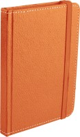 Ecoleatherette Handcrafted Cover Journal A6 Diary Hard Bound (Orange)