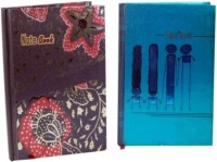 Aahum Sales Stylish Set Of 2 A5 Notebook Hard Bound (Multicolor)