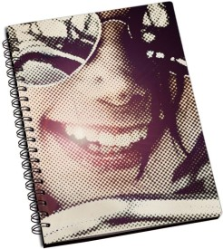 RangeeleInkers michael jackson Dot Art A5 Notebook Spiral Bound