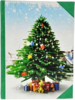 Craft Play Christmas Special Regular Notebook Hard Bound (Multicolor)