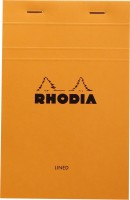 Rhodia Mini Note Pad (Basics Orange - No. 14 - 170 Mm X 110 Mm, Orange)