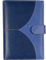 Sukeshcraft Sariasmita D4 Combination Sky & Navy Blue B7 Diary Hard Bound (Navy Blue, Sky Blue)